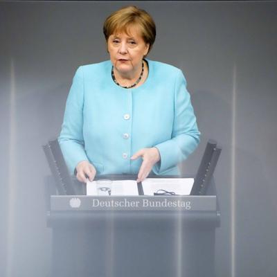 """Angela Merkel: La variante delta pone a Europa """"en la cuerda floja"""""""