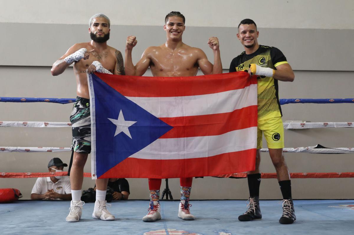Josué Vargas, Xánder Zayas y Orlando González