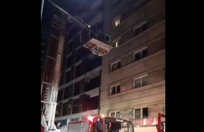 Rescatan a un futbolista uruguayo de incendio en Buenos Aires