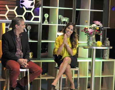 A manos llenas la presentadora Gredmarie Colón