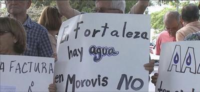 Miles de familias sin agua en Morovis