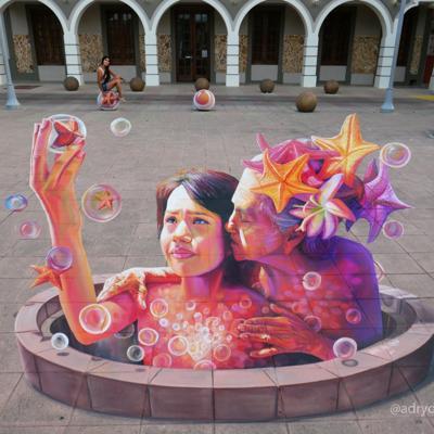 Transformador arte urbano
