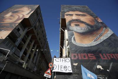 Diego Maradona Italia