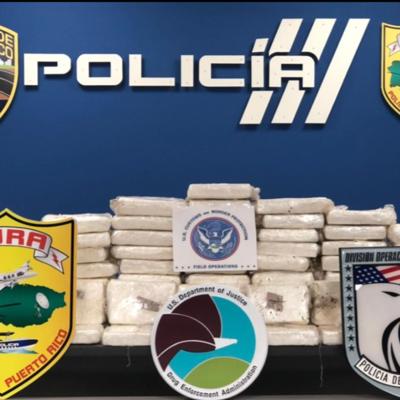 Policía incauta 100 bloques de cocaína en San Juan