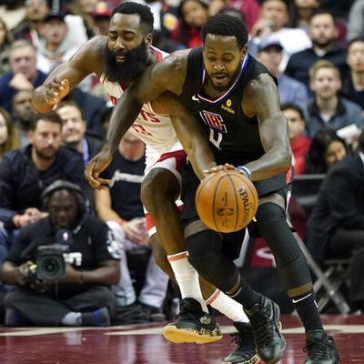 Harden anota 47 puntos en triunfo de Rockets sobre Clippers