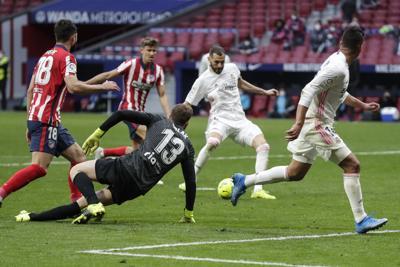 Atlético y Real Madrid empatan en el derbi