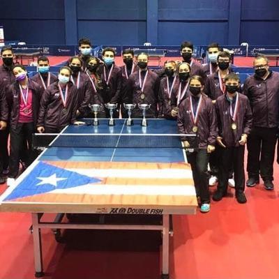 Bronce para Puerto Rico en Campeonato Panamericano juvenil de tenis de mesa