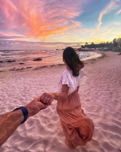 Carlos Ponce le propone matrimonio a Karina Banda