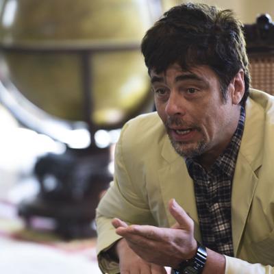 Benicio del Toro alza su voz por una buena causa