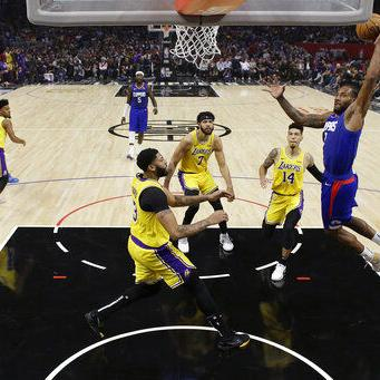 Leonard guía a Clippers a triunfo sobre LeBron y Lakers