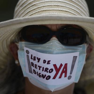 Pensionados reclaman respaldo a proyecto para Retiro Digno