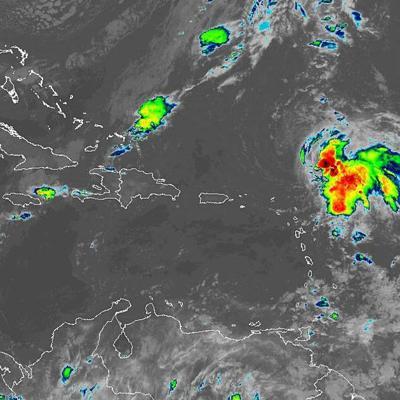 Tormenta tropical Sebastien gana fuerza