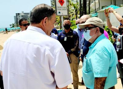 Establecen planes especiales para buscar la seguridad de los bañistas en playa del Condado