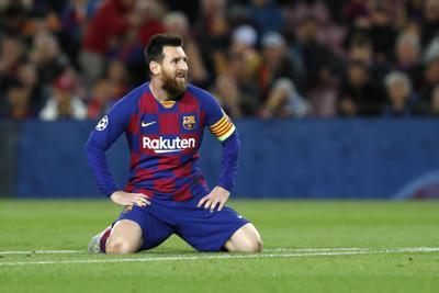 FC Barcelona se atasca en la Liga de Campeones