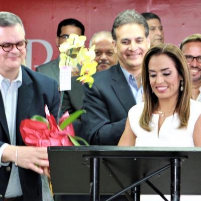 Rossana López formaliza su candidatura a la alcaldía de San Juan