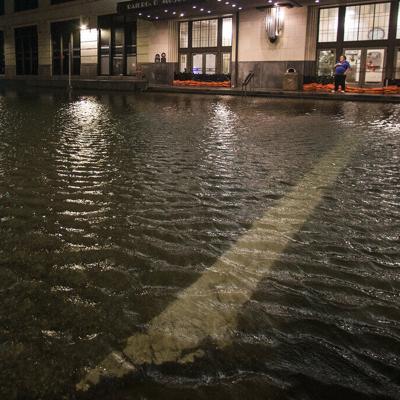 Tormenta tropical Beta inunda la costa de Texas