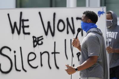 Equipo de NFL realiza protesta tras caso Blake