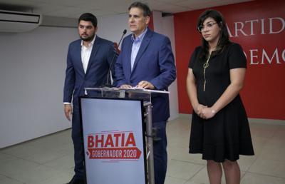 Eduardo Bhatia propone enmendar la Constitución