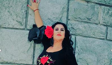 """María Cortés, """"La Granaína"""","""