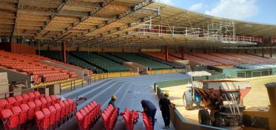 El estadio Yldefonso Solá Morales estará listo a medias para la vuelta de los Criollos