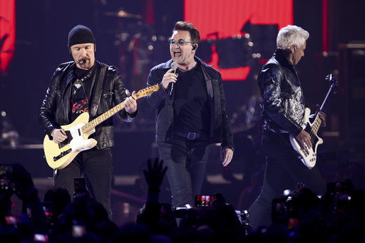Bono confirma que U2 grabará shows de México