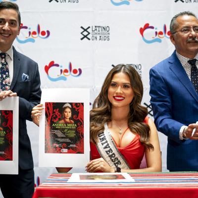 Miss Universo está decidida en aprovechar su corto reinado