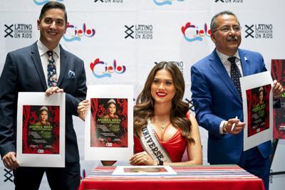 Miss Universe Latino AIDS Commission