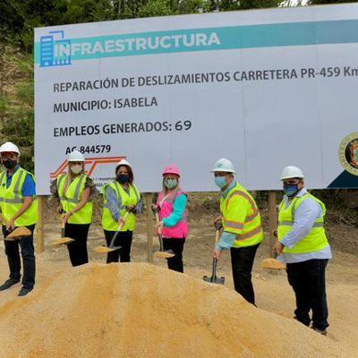 Repararán la PR-459 entre Aguadilla e Isabela