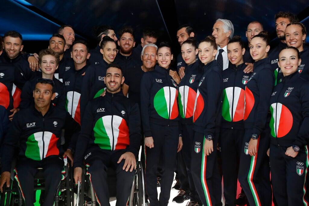 Olympic Uniforms Giorgio Armani