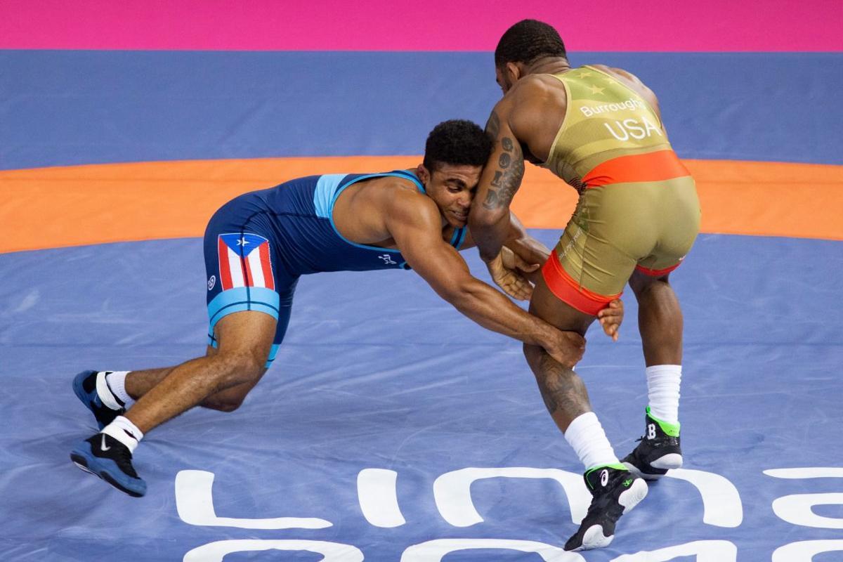 luchador olímpico Franklin Gómez
