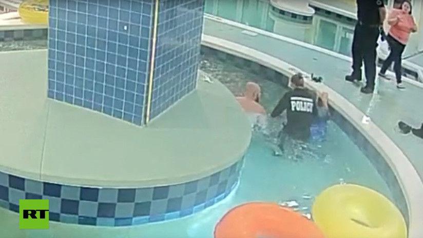 Tuber a de piscina succiona a ni o ins litas for Piscinas insolitas