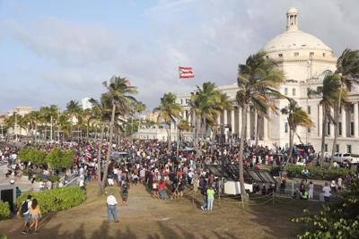 Manifestación en el Capitolio