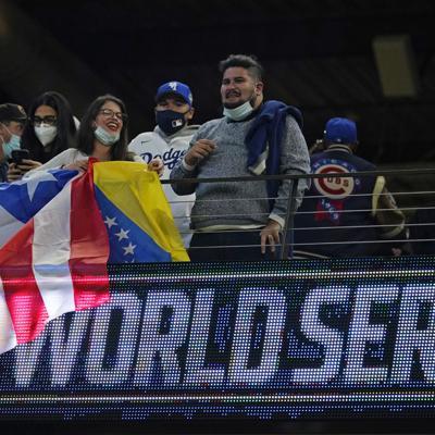 Dodgers y Rays agradecidos por tener fans en Serie Mundial