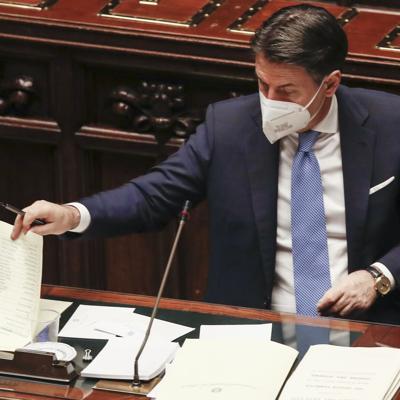 Primer ministro italiano busca evitar caída de su gobierno