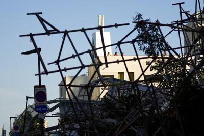 Mueren cinco obreros en un derrumbe de una escuela en Bélgica