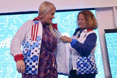 Comprometida con los atletas gobernadora Wanda Vázquez