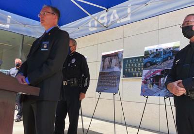 Escuadrón antibombas provoca explosión en Los Ángeles