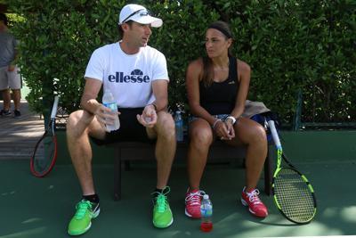 Práctica común para los tenistas cambiar de entrenador