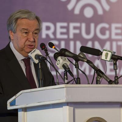 """Jefe de ONU: Brote de coronavirus es una """"situación muy peligrosa"""""""