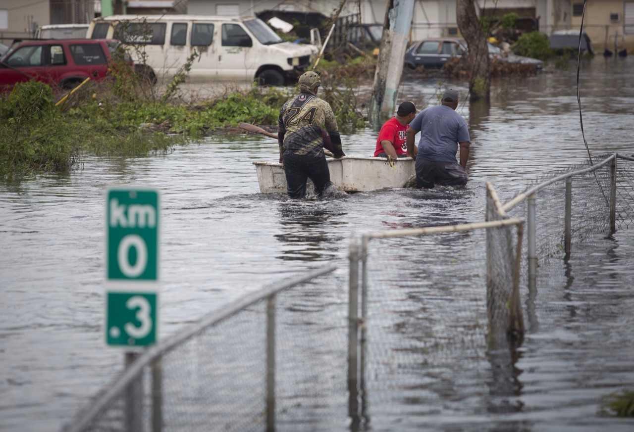 Represa dañada por huracán María preocupa a las autoridades de Puerto Rico