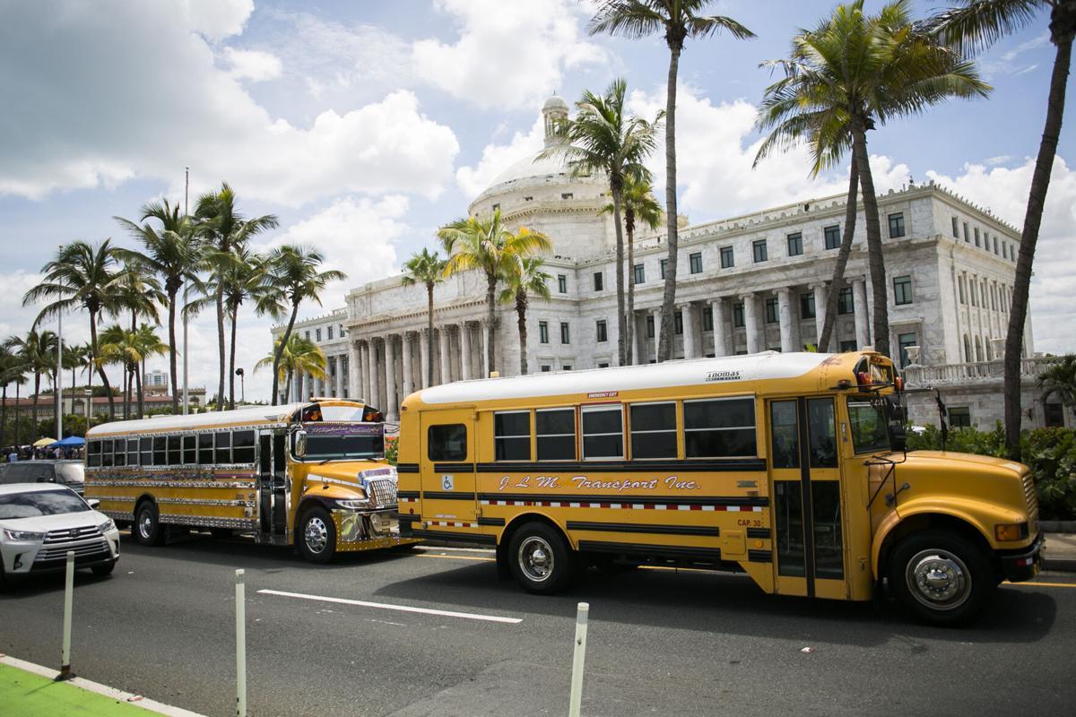 Transportistas escolares guaguas escolares