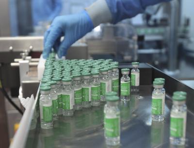 Virus Outbreak India Vaccine Exports