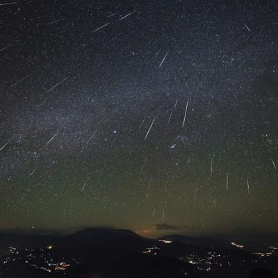 Lluvia de estrellas fugaces durante este fin de semana