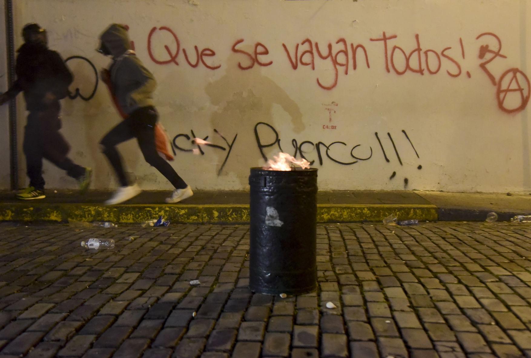 Incidentes reportados en manifestación y daños a Casa Alcaldía