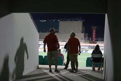 Fanáticos vuelven al juego: la noche en la que se abrieron las puertas del estadio