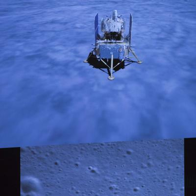 Sonda china llega a la Luna
