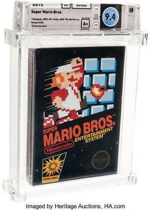 Venden en más de $110 mil videojuego de Super Mario Bros