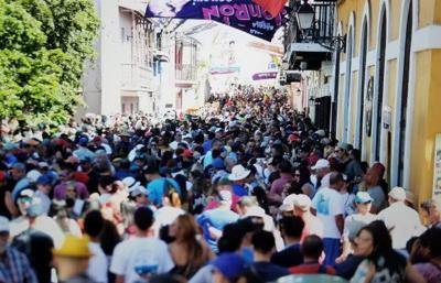 Cerrado el acceso vehicular al Viejo San Juan