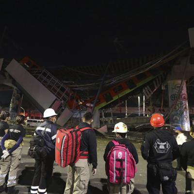 Metro cae en Ciudad de México: 24 muertos y 70 heridos