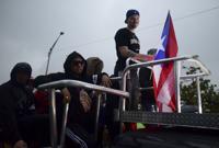 Manifestación en La Fortaleza